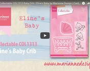 Video Marianne Design, inbaar COL1313, Cot