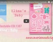 Video Marianne Design, inbaar COL1387, baby