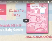 Video Marianne Design, Collectable COL1419, babytøj