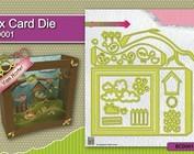 Instructievideo voor het boksen kaart / Schadowbox ponsen template items: Kh494391 BCD001