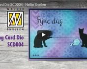 Instruktionsvideo til Sliding kort stansning skabelon elementer: Kh494392 BCD004