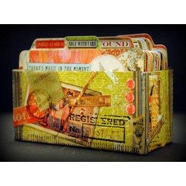Spellbinders und Rayher Spellbinders, Shapeabilities Collection, Snij en emboss mall / Sjabloon: Address Book