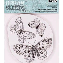 Docrafts / Papermania / Urban Papermania, timbri, farfalle