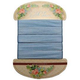 Marianne Design Marianne Design, blu pizzo di seta, 13 mm - 150 cm