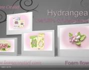 Plantilla de corte y relieve: Hydrangea by Lea'bilities Leane Creatief