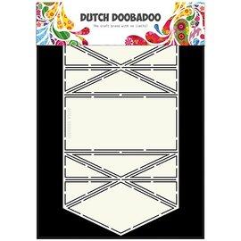 Dutch DooBaDoo Hollandsk doobadoo, plastik stencil, kort kunst diamant