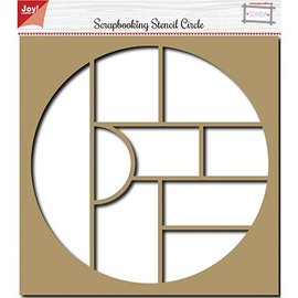Joy!Crafts / Jeanine´s Art, Hobby Solutions Dies /  Scrapbooking Stencil, Album ,Circle