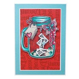 CREATIVE EXPRESSIONS und COUTURE CREATIONS EXPRESIONES CREATIVAS, sello: Jar of Dreams