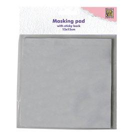 Nellie Snellen Nellie Snellen, 30 hojas, bloque de papel adhesivo blanco mascade
