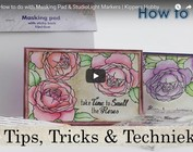 Como fazer com Masking Pad