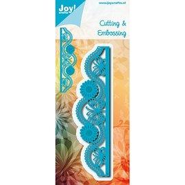 Joy!Crafts / Jeanine´s Art, Hobby Solutions Dies /  Glæde! Håndværk, skæring og prægning skabelon: Border Butterfly