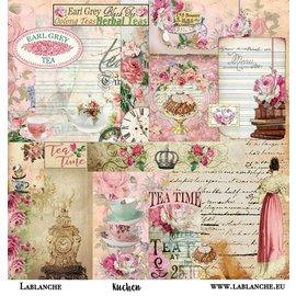 "LaBlanche LaBlanche, carta scrapbooking / carta ""torta"""