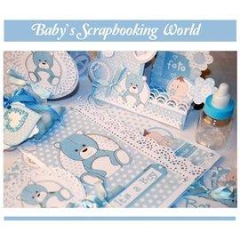 Stamperia Stamperia: scrapbooking / cartões de papel, baby