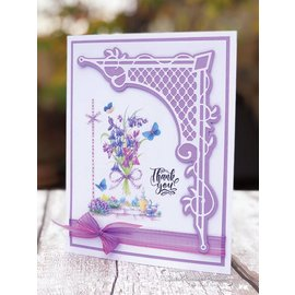 Tonic Tonic, Cutting and embossing Template: Canto, 130 x 173 mm