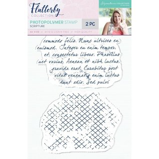 Crafter's Companion Transparent Stempel: Script