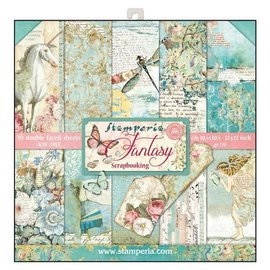 Stamperia NEW! Stamperia: Scrapbooking Paperblock, Wonderland