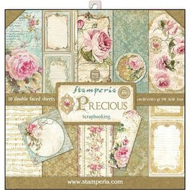 Stamperia NUEVO! Stamperia: Scrapbooking Paperblock, Precious
