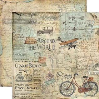 Stamperia NEU! Stamperia: Scrapbooking Paperblock, Time is an Illusion