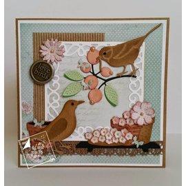 Joy!Crafts / Jeanine´s Art, Hobby Solutions Dies /  Glæde! Håndværk, skæring og prægning skabelon: Corner Butterfly - Copy
