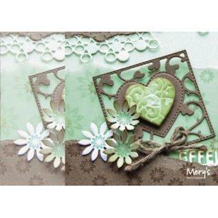 Joy!Crafts / Jeanine´s Art, Hobby Solutions Dies /  Poinçonnage et gaufrage pochoir: place avec coeur