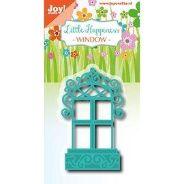 Joy!Crafts / Jeanine´s Art, Hobby Solutions Dies /  Joy! Crafts, skæring og prægning skabelon: Deco vindue