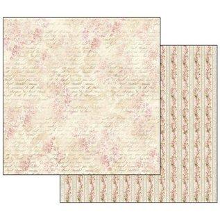 Stamperia NEU! Stamperia: Scrapbooking Paperblock, Shabby Rose