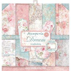 Stamperia NUEVO! Stamperia: Scrapbooking Paperblock, Dream