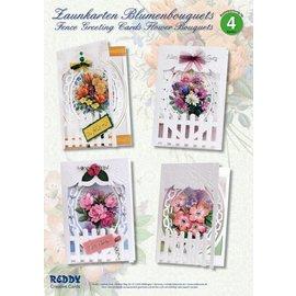 BASTELSETS / CRAFT KITS Kit Craft, Cerca Cartões Flor Bouquets