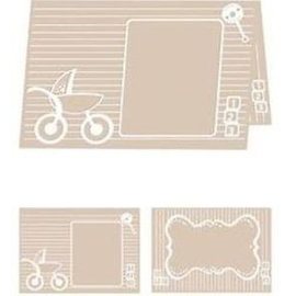 embossing Präge Folder A4 Embossing Folder: Baby