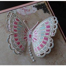 Marianne Design Marianne Design, stanz- und prägeschablone + Stempel: Schmetterlinge