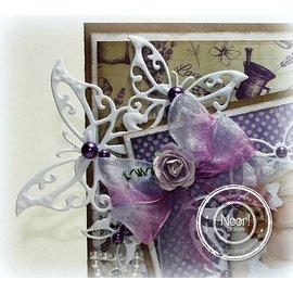 Joy!Crafts / Jeanine´s Art, Hobby Solutions Dies /  Alegria! Artesanato, corte e modelo de gravação: canto da borboleta