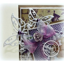 Joy!Crafts / Jeanine´s Art, Hobby Solutions Dies /  Joy!Crafts, cutting and embossing template: Butterfly Corner