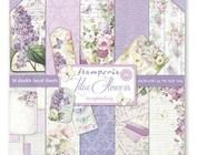 Scrapbooking e cartão de papel: Lilac Flowers