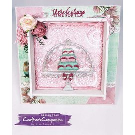 Crafter's Companion Corte e molde de estampagem: Tea party do vintage, doce