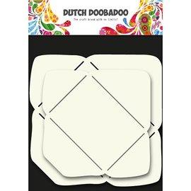 Dutch DooBaDoo Modelo de arte para o design de envelopes em 2 tamanhos