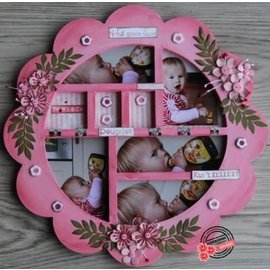 Dutch DooBaDoo MDF Shadow box, 29 x 29cm