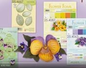 Leane Creatief Flower Foam: Pensamiento 3D