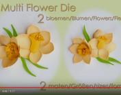 Leane Creatief Flower Skum: 3D Påskelilje