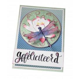 Joy!Crafts / Jeanine´s Art, Hobby Solutions Dies /  Alegria! Artesanato, corte e modelo de gravação: Libélula
