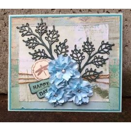 CREATIVE EXPRESSIONS und COUTURE CREATIONS cutting and embossing template: 3D flower