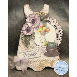 Pronty Álbum de Scrapbooking Underdress da peça do MDF: Tema do bebê