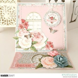 Kaisercraft und K&Company Kaisercraft, bloco de papel 30,5x30,5cm Rose avenue