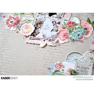Kaisercraft und K&Company Kaisercraft, papirblok 30,5x30,5cm Rose Avenue