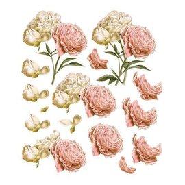 """Bilder, 3D Bilder und ausgestanzte Teile usw... Arc à Découpage A4, Roses Vintage, """"C'est La Vie"""""""