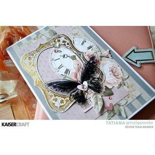 Kaisercraft und K&Company Kaisercraft colecionáveis Romantique, 45 ornamentos