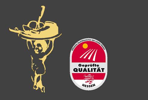 Henrici Logo /Geprüfte Qualität Hessen Logo
