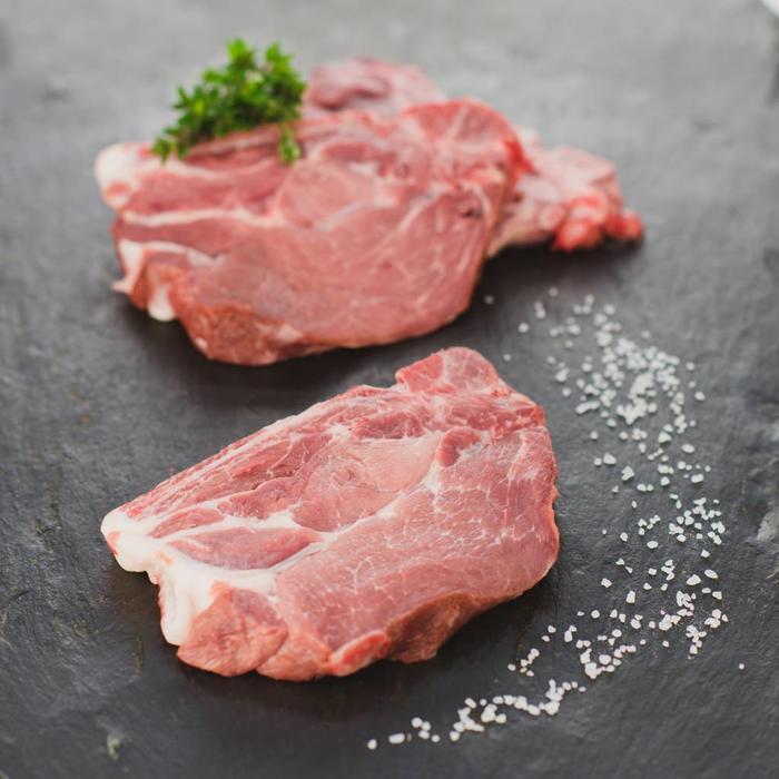 Kammkotelett vom Schwein