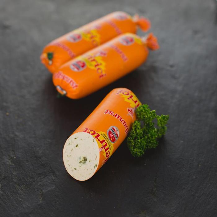 Gelbwurst mit Petersilie