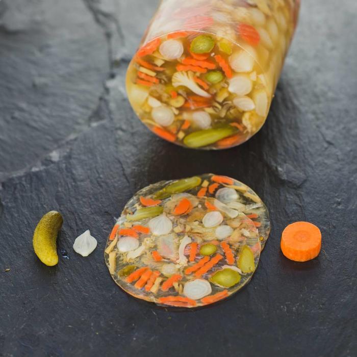 Mixed Pickles Sülze