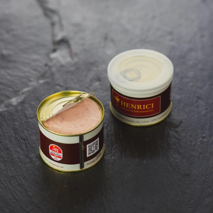 Schinkenwurst Dose
